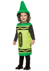 toddler-green-crayon-costume